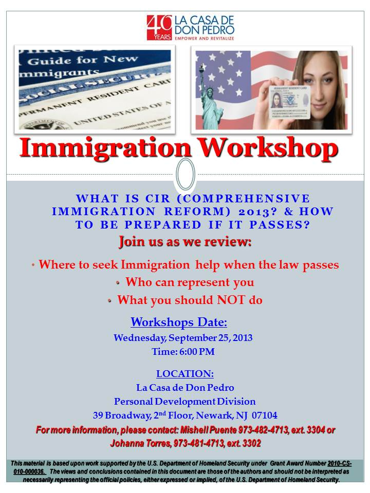 Immigration Legal Form