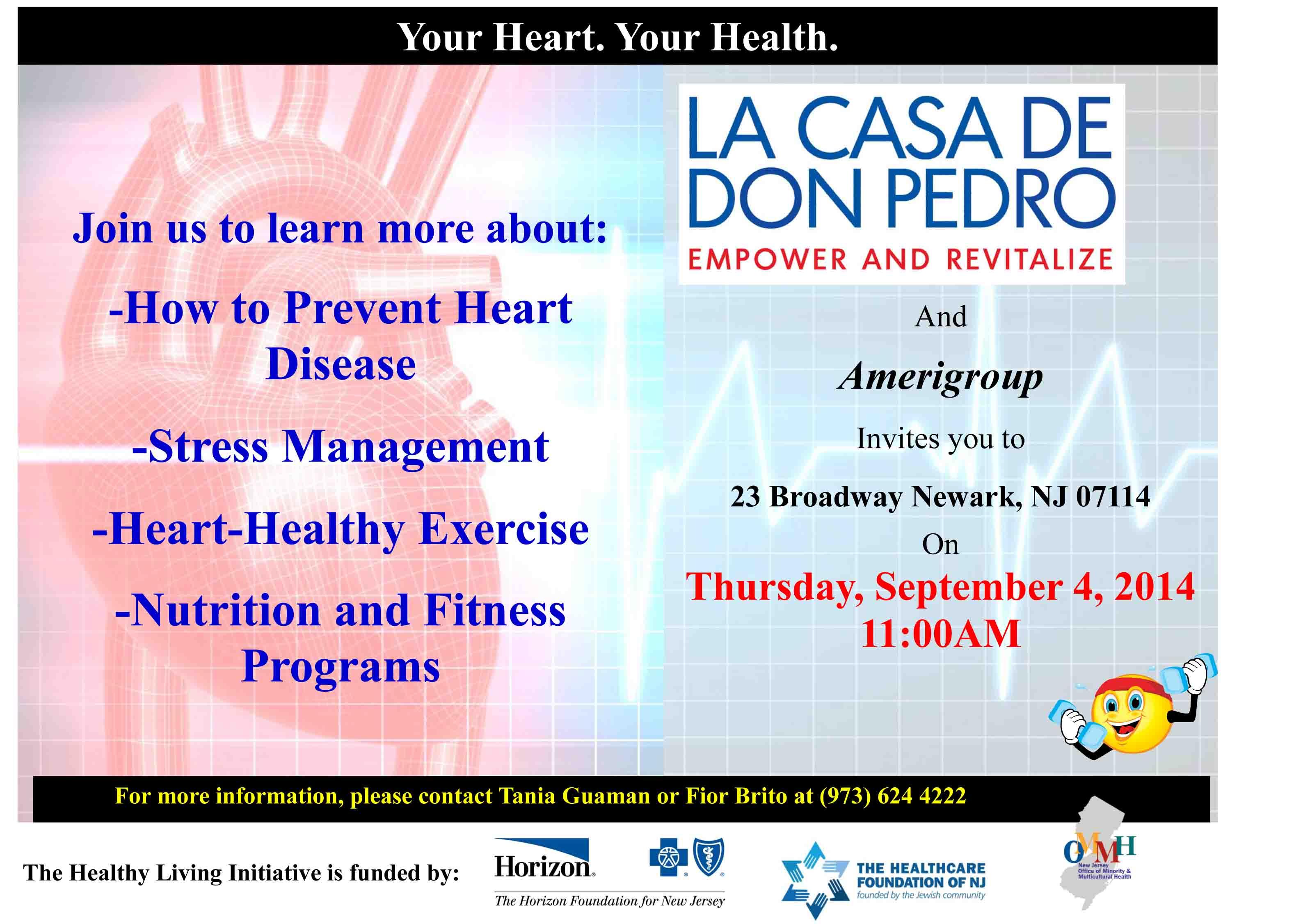 heart disease prevention workshop
