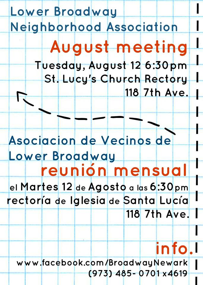 LBNA August Meeting
