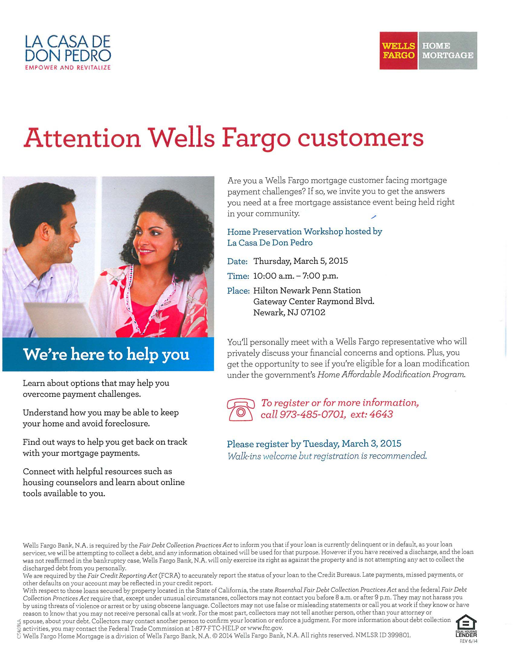 Wells Fargo english