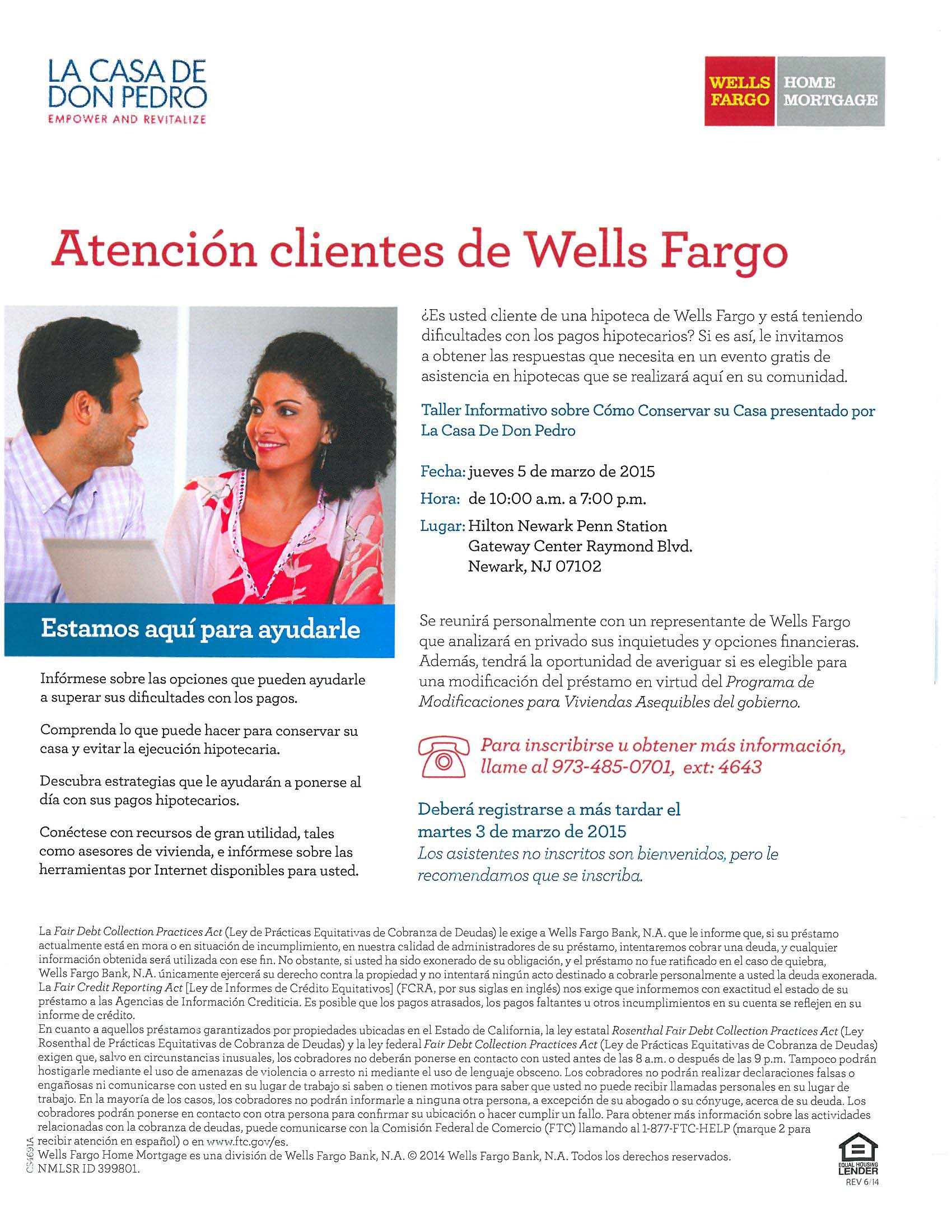 Wells Fargo spanish