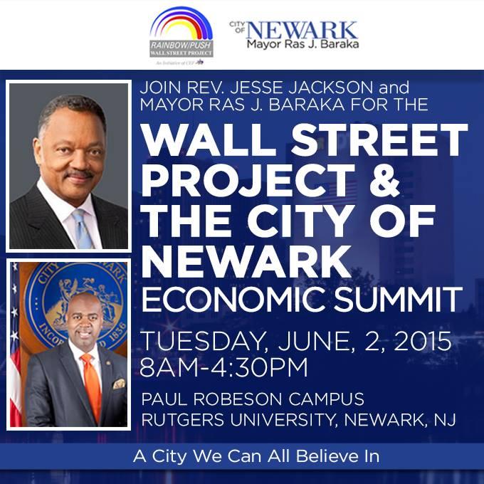 Rainbow PUSH Wall Street Project & City of Newark Economic Summit