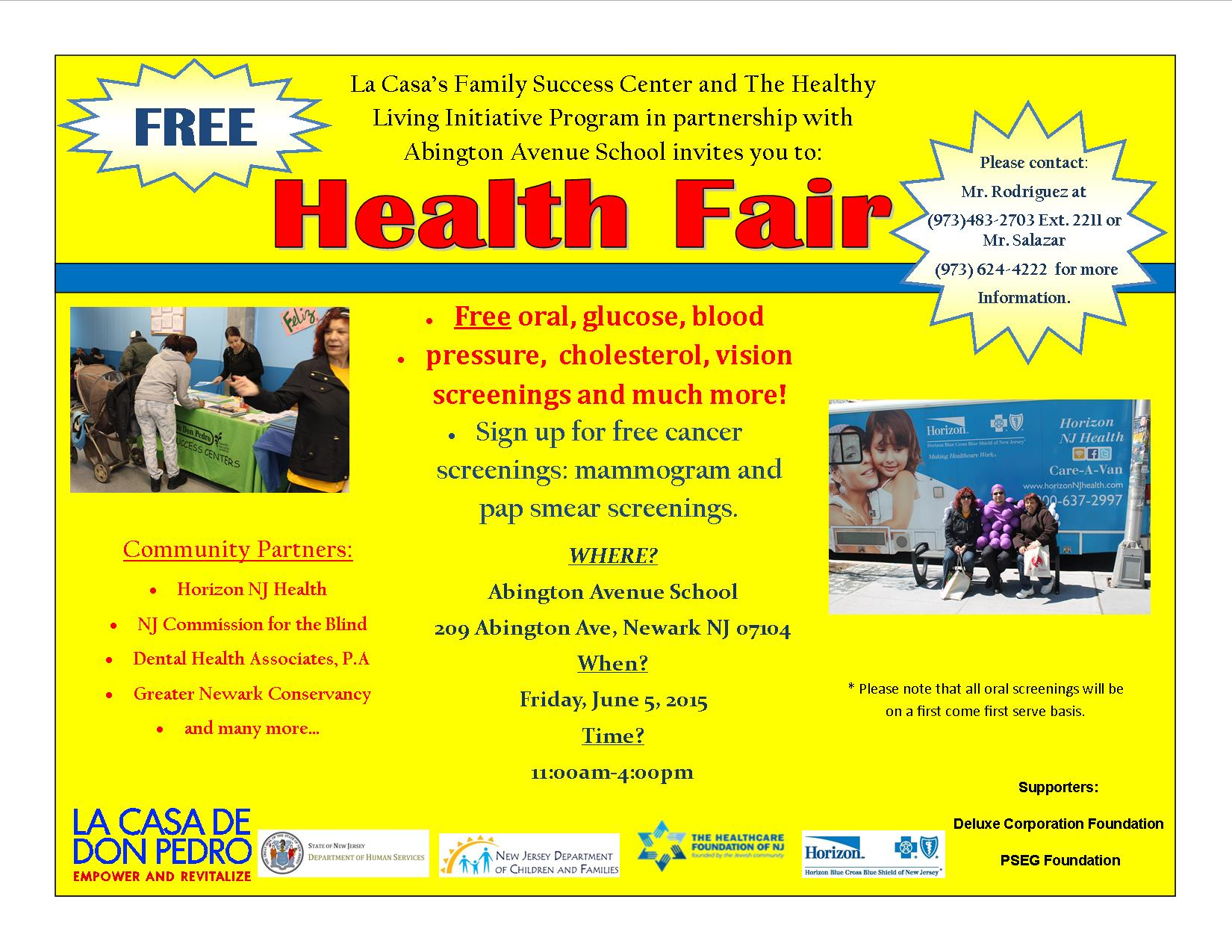 Health Fair June