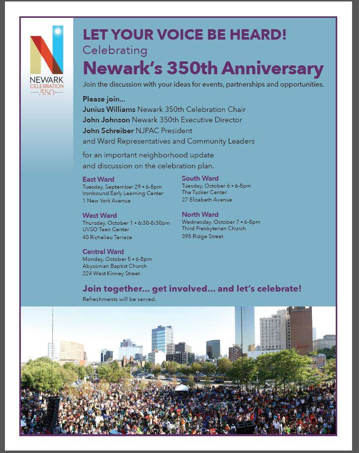 Newark 350 Ward Gatherings