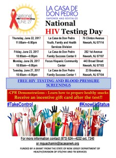 National HIV Testing Day Flyer 2017 English and Spanish_Page_1