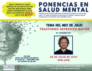 La Casa now offering FREE Mental Health Speaker Series in Spanish