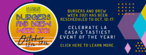 Burgers and Brew Week is Coming October 12th