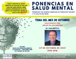 La Casa offering FREE Mental Health Speaker Series in Spanish